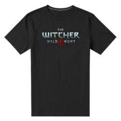 Мужская стрейчевая футболка Witcher Logo