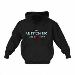 Детская толстовка на флисе Witcher Logo