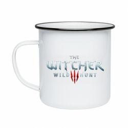 Кружка эмалированная Witcher Logo
