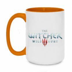 Кружка двухцветная 420ml Witcher Logo