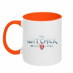 Кружка двухцветная 320ml Witcher Logo