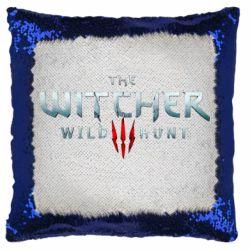 Подушка-хамелеон Witcher Logo