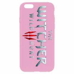 Чехол для iPhone 6 Plus/6S Plus Witcher Logo
