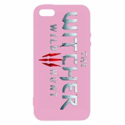 Чехол для iPhone5/5S/SE Witcher Logo