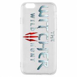 Чехол для iPhone 6/6S Witcher Logo