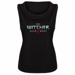Женская майка Witcher Logo