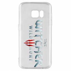 Чехол для Samsung S7 Witcher Logo
