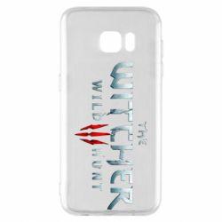Чехол для Samsung S7 EDGE Witcher Logo