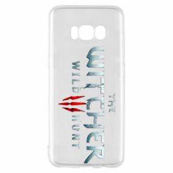 Чехол для Samsung S8 Witcher Logo
