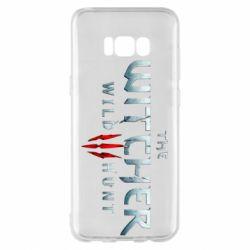 Чехол для Samsung S8+ Witcher Logo