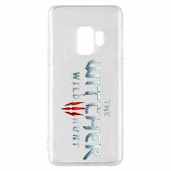 Чехол для Samsung S9 Witcher Logo
