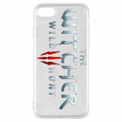 Чехол для iPhone 8 Witcher Logo