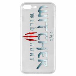 Чехол для iPhone 8 Plus Witcher Logo