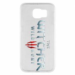 Чехол для Samsung S6 Witcher Logo