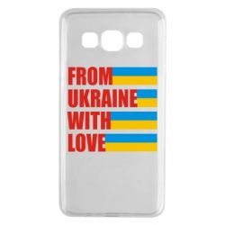Чехол для Samsung A3 2015 With love from Ukraine - FatLine