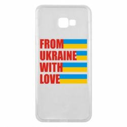 Чехол для Samsung J4 Plus 2018 With love from Ukraine - FatLine