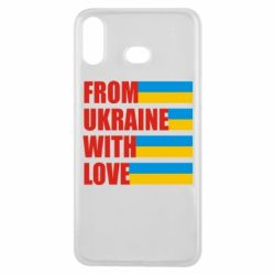 Чехол для Samsung A6s With love from Ukraine - FatLine