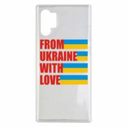 Чохол для Samsung Note 10 Plus With love from Ukraine