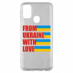 Чохол для Samsung M30s With love from Ukraine