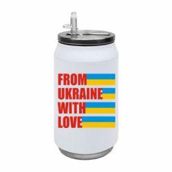 Термобанка 350ml With love from Ukraine
