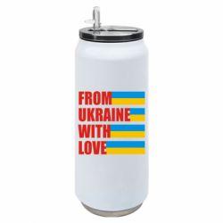 Термобанка 500ml With love from Ukraine