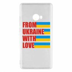 Чехол для Xiaomi Mi Note 2 With love from Ukraine - FatLine