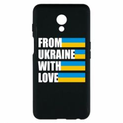 Чехол для Meizu M6s With love from Ukraine - FatLine