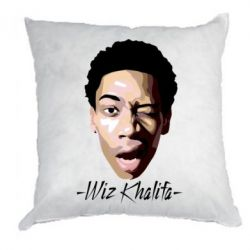 Подушка Wiz Khalifa Face