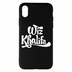 Чехол для iPhone X/Xs Wiz Khalifa