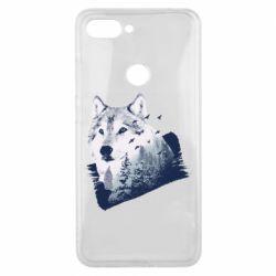 Чехол для Xiaomi Mi8 Lite Wolf and forest