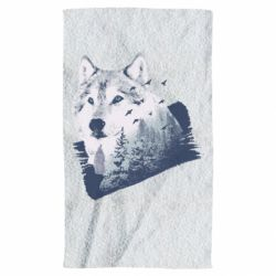 Полотенце Wolf and forest