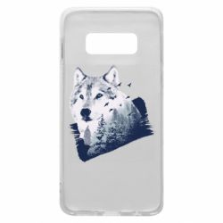 Чехол для Samsung S10e Wolf and forest