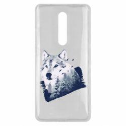 Чехол для Xiaomi Mi9T Wolf and forest