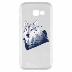 Чехол для Samsung A5 2017 Wolf and forest