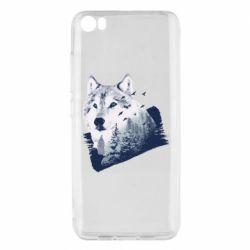 Чехол для Xiaomi Mi5/Mi5 Pro Wolf and forest