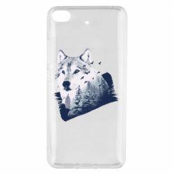 Чехол для Xiaomi Mi 5s Wolf and forest