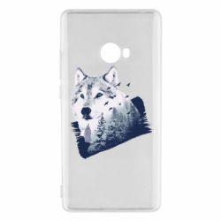 Чехол для Xiaomi Mi Note 2 Wolf and forest