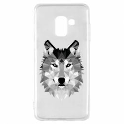 Чохол для Samsung A8 2018 Wolf Art