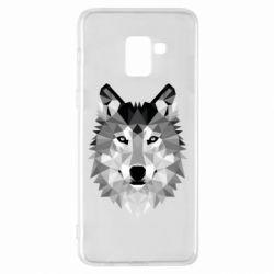 Чохол для Samsung A8+ 2018 Wolf Art