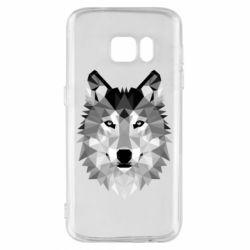 Чохол для Samsung S7 Wolf Art