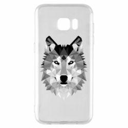 Чохол для Samsung S7 EDGE Wolf Art