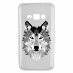 Чохол для Samsung J1 2016 Wolf Art
