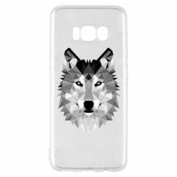 Чохол для Samsung S8 Wolf Art