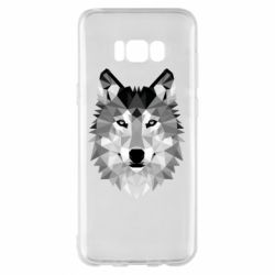 Чохол для Samsung S8+ Wolf Art