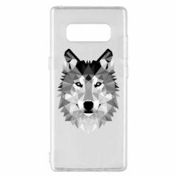 Чохол для Samsung Note 8 Wolf Art
