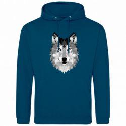 Мужская толстовка Wolf Art - FatLine