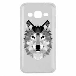 Чохол для Samsung J2 2015 Wolf Art