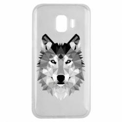Чохол для Samsung J2 2018 Wolf Art