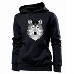 Женская толстовка Wolf Art - FatLine