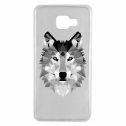 Чохол для Samsung A7 2016 Wolf Art